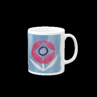 しがないななしSHOPのぱっと咲いた Mugs