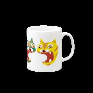 126.comの列とら Mugs