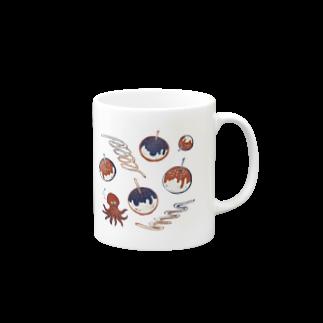 akaneyabushitaの【日本レトロ#20】たこ焼き Mugs