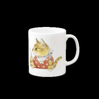 Rosemary*Teaのハングリーチャトニャン Mugs