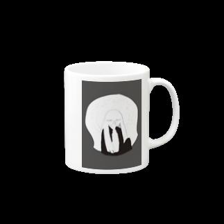 monacoocの女の子 Mugs