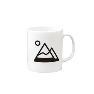 tk64358の山simple Mugs