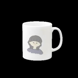 suzuのウルフ女子 Mugs