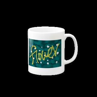 pine_pipのFlower Mugs