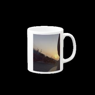 むらただいちのゆうひ Mugs