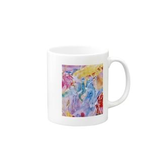 palette.2(縦ver.) Mugs