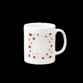 mero46のいちご Mugs