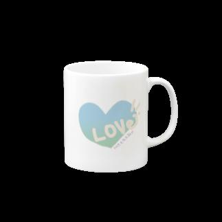 AURUMの爽やかLOVE Mugs