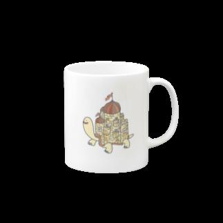 mmmooaの城カメ Mugs