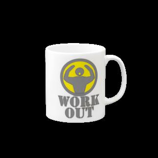 AURA_HYSTERICAのWorkout Mugs