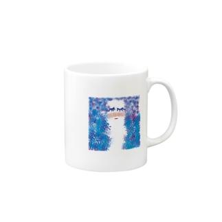 水の妖精 Mugs
