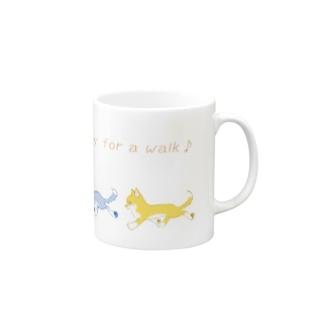 お散歩日和♪ Mugs