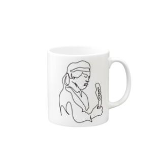 ジミヘン イラスト Mugs