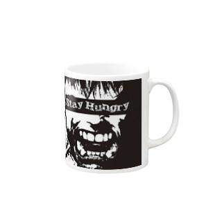 """""""Stay Hungry."""" Mugs"""