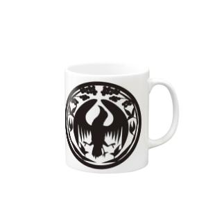 八咫烏堂ロゴ Mugs
