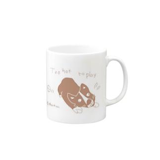 暑い 無理 Mugs