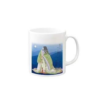 百人一首シリーズ1 Mugs