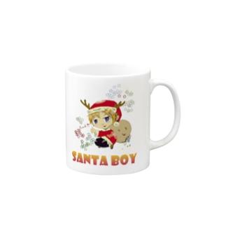 サンタボーイマグカップ Mugs