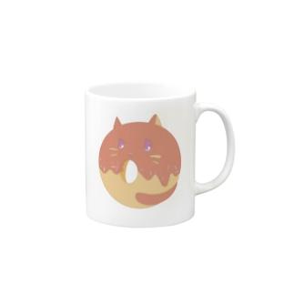 Doughnut Cat Mugs