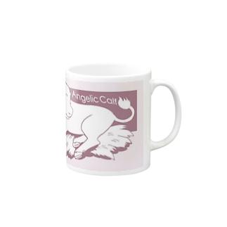 Angelic Calf ピンク Mugs