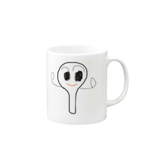 メッチャ=ヨソウ=シャモジくん Mugs