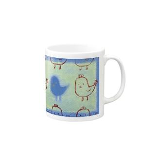 もしもし・小鳥 Mugs