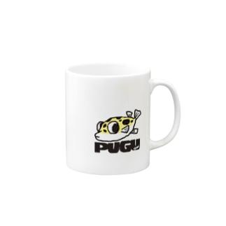 フグのキナ2 Mugs