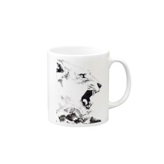 シシカバぐっずの虎 Mugs
