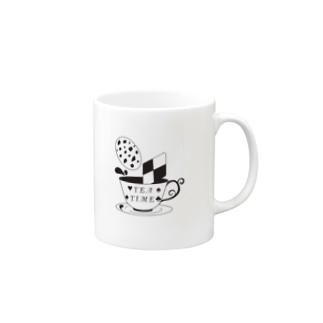 お茶会 Mugs