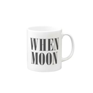 WHEN MOON Mugs