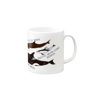 大人気スターのイルカたち Mugs