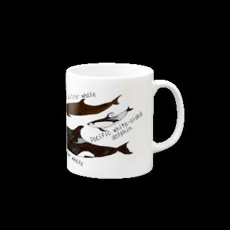 いるか屋 こすずの大人気スターのイルカたち Mugs