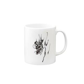 『さる沢』ロゴ Mugs