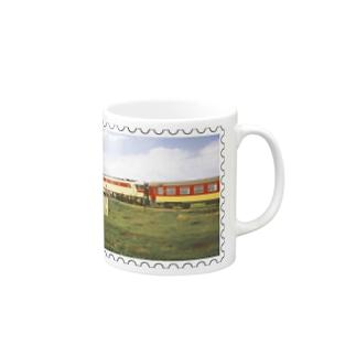 モロッコ:列車★白地の製品だけご利用ください!! Morocco: Train★Recommend for white base products only !! Mugs