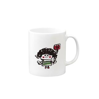 「girl」 Mugs