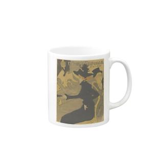 Affiche, Henri de Toulouse-Lautrec Mugs