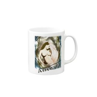 Mulher hermosa : amore Mugs