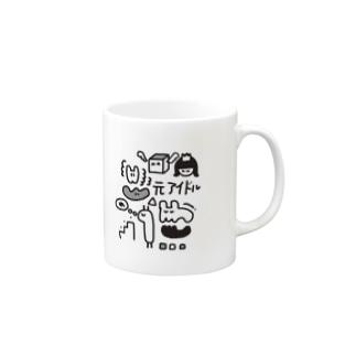 ぶっだ Mugs