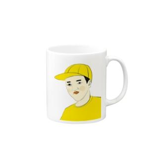 つうこうにん Mugs