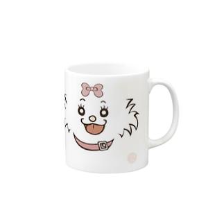 [佐藤家ペットシリーズ] メルモちゃんフェイス Mugs