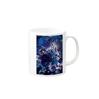 深海へ沈む Mugs