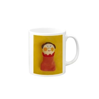 ほっぺちゃん指人形 Mugs