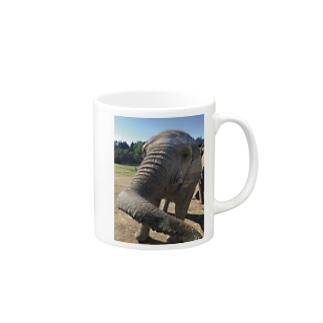 ゾウさんこんにちは Mugs
