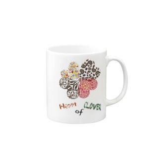 Heart of Clover Mugs