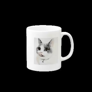 MONACACHUKUWAのperoCAT Mugs