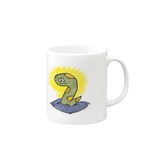ヘビ太の冥想 Mugs