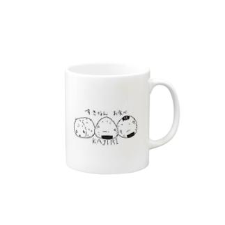 おにぎりKAJIRI Mugs