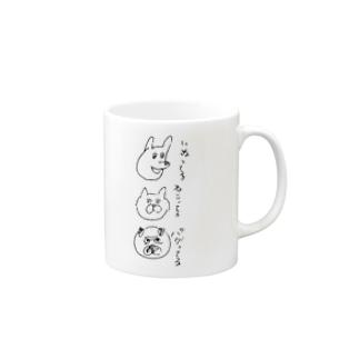 ってる Mugs