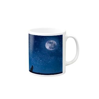 星夜に吼える狼 Mugs