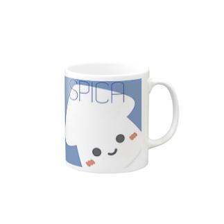 spicaイカ Mugs